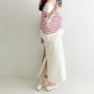 GUラインが綺麗な高見えスカートの画像