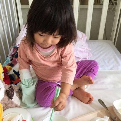 2歳で「川崎病」を診断された娘の画像