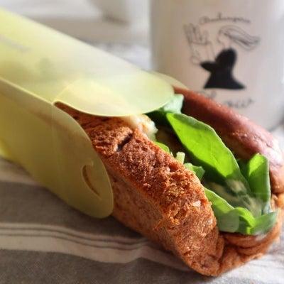 持ち歩きもOKな折るサンドイッチの画像