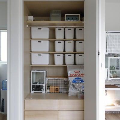 物が取り出しやすい収納方法の画像
