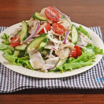 猛暑を乗り切る夏バテ対策サラダの画像
