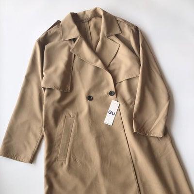 実物見て購入を決めたGUのコートの画像