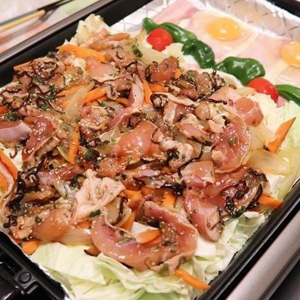 驚くほど野菜が摂れる鶏焼き肉の画像