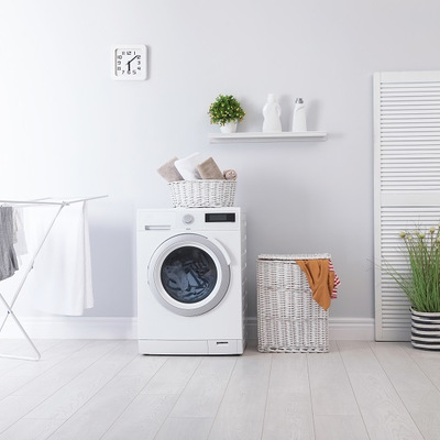 詐欺にあった気がする洗濯機設置の画像