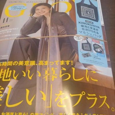 朝一で買った付録目当ての雑誌の画像