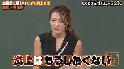 新山千春、炎上ブログでボロ儲けの過去「主婦にめっちゃ嫌われてた」