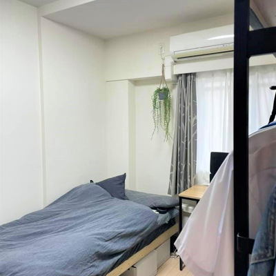 3LDKの中に設けた中3息子の部屋の画像