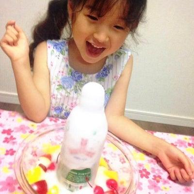 子供が喜ぶ噴水フルーツポンチの画像