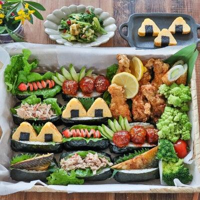 子どもが食べやすいおむすびの画像
