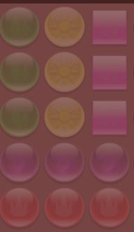 アンドロイドアプリ「パズトレ」使用の画像