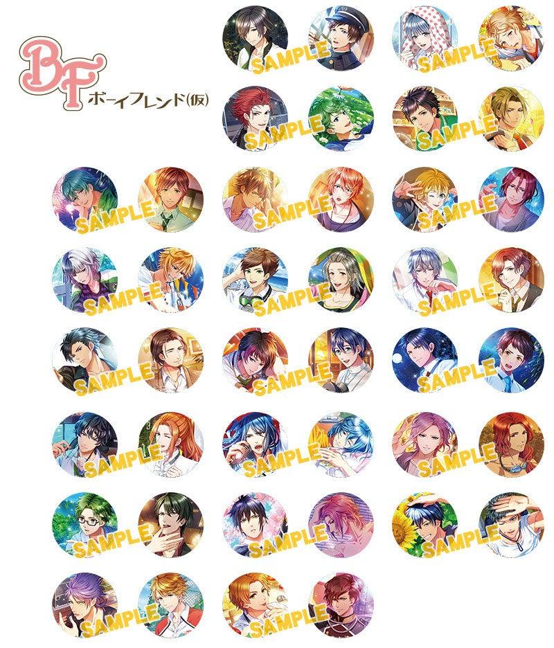 アニメイト限定『アニ☆カプ 缶バッジ 第3弾』全42種の画像