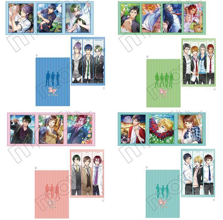 アニ☆マルシェ&コミックマーケット88&通販限定『タオル&クリアファイルセット』全4種の画像