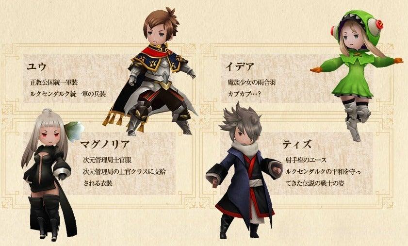 キャラクター専用衣装ゲットの画像