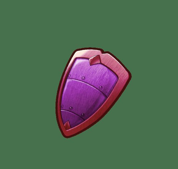 ★1盾・滅紫の盾の画像