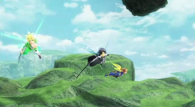 舞台はALO! 飛行アクションRPG!の画像