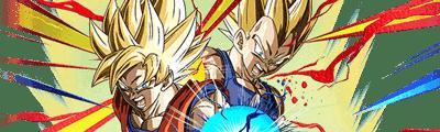 ■第5位【黄金のタッグ】超サイヤ人孫悟空&超サイヤ人ベジータの画像