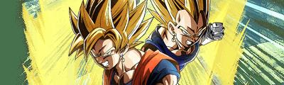 第1位【合体する超パワー】超サイヤ人孫悟空&超サイヤ人ベジータの画像