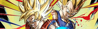 第3位【黄金のタッグ】超サイヤ人孫悟空&超サイヤ人ベジータの画像
