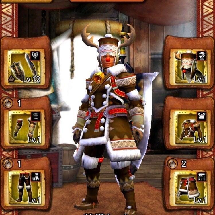 剣士/ガンナー クリスマス装備(男)の画像