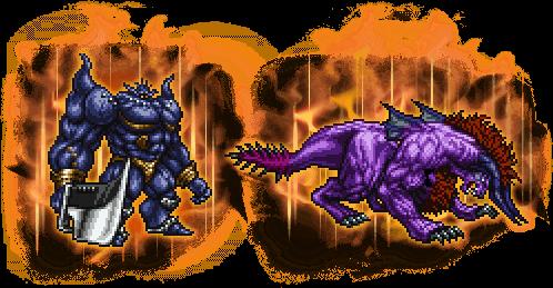 【凶】鉄巨人&【凶】ベヒーモスの画像