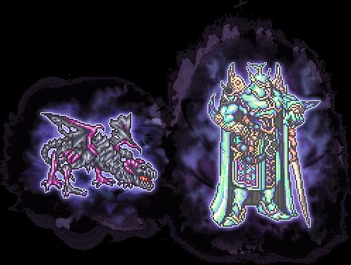 【凶】シールドドラゴン&【凶】エクスデスソウルの画像