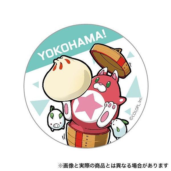 ご当地星たぬき缶バッジ (横浜)の画像