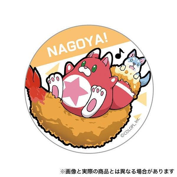 ご当地星たぬき缶バッジ (名古屋)の画像