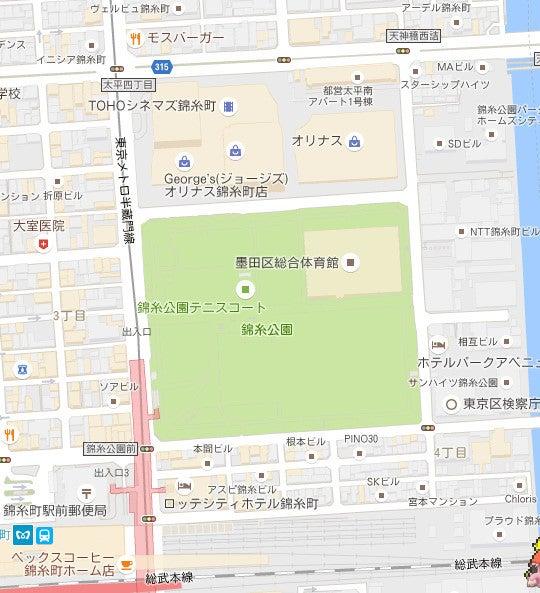 錦糸公園にポケモンがいません。の画像