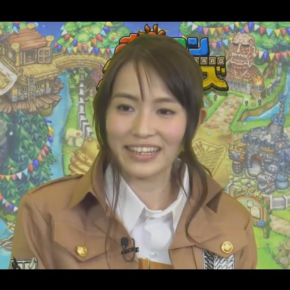 来年春二期放送予定の『進撃の巨人』ゲームコラボ企画の実況動画でキャラ萌え!