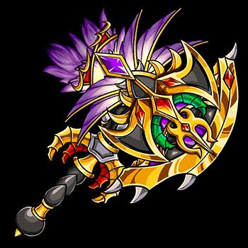 幽淵妃の魔棘斧の画像