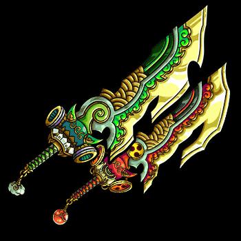 鬼神の楓轟双刀の画像