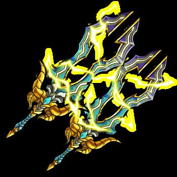 雷神王の魔双剣の画像