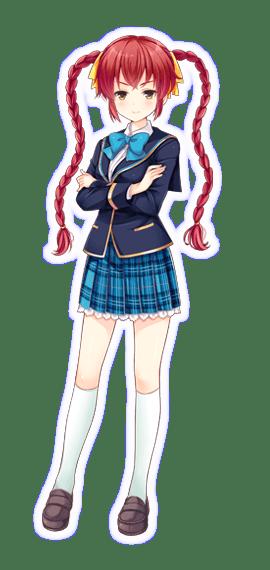 [マジメな2-C の学級委員長]八束由紀恵の画像