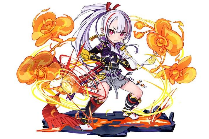 星6「麗しき忠魔神・森蘭丸」/火属性/忍者の画像