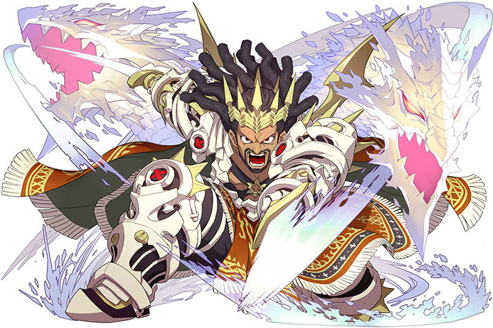 星6「竜星崇めし王魔神・ユーサー」/無属性/騎士の画像