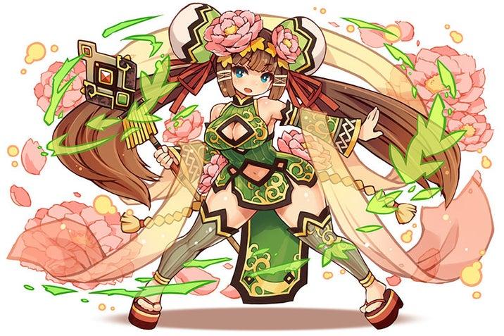星6「心服させる天鵞絨・楊貴妃」/木属性/魔術師の画像