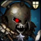 猛毒の骸骨騎士