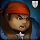 巨漢の海賊