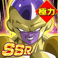 SSR【第7宇宙10人目の戦士】ゴールデンフリーザ(天使)(極力)