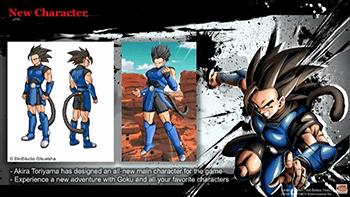 鳥山明先生デザインのオリジナルキャラクターも参戦決定