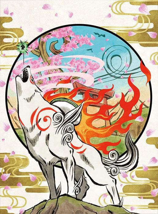 「大神」キャラクターデザイン吉村健一郎氏による「大神 絶景版 幸しらべ」のための描き下ろしイラストの画像