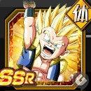 SSR【希望の超フュージョン】超サイヤ人ゴテンクス