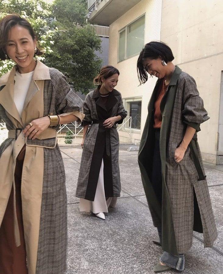 手持ちコート40着のプロは今年、この3着をヘビロテ中。「いつも同じ」にならない着まわし術