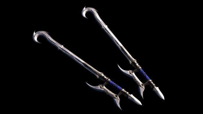 ○追加武器「双鉤(そうこう)」の画像