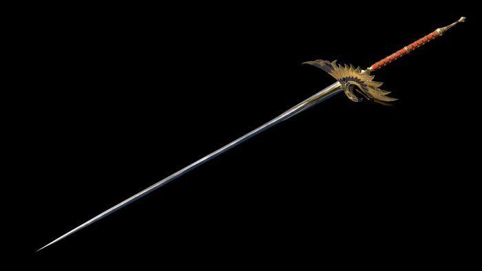 ○追加武器「迅雷剣(じんらいけん)」の画像
