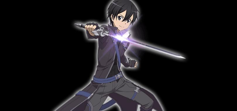 【創世の黒剣士】キリト(SAO)の画像