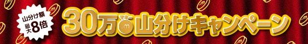 期間中に対象サービスへ会員登録した方に 100マネープレゼント& 30万マネー山分け!!