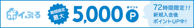 登録後、広告利用で500マネー&上限なし!交換10%増量!