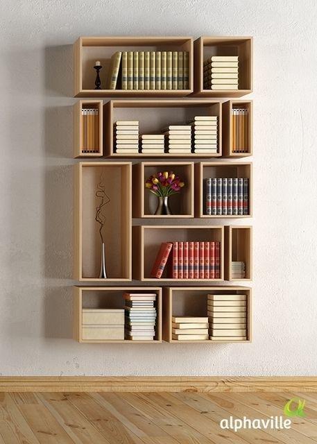 %name 目からウロコの大きなキャビネットを必要としない書棚